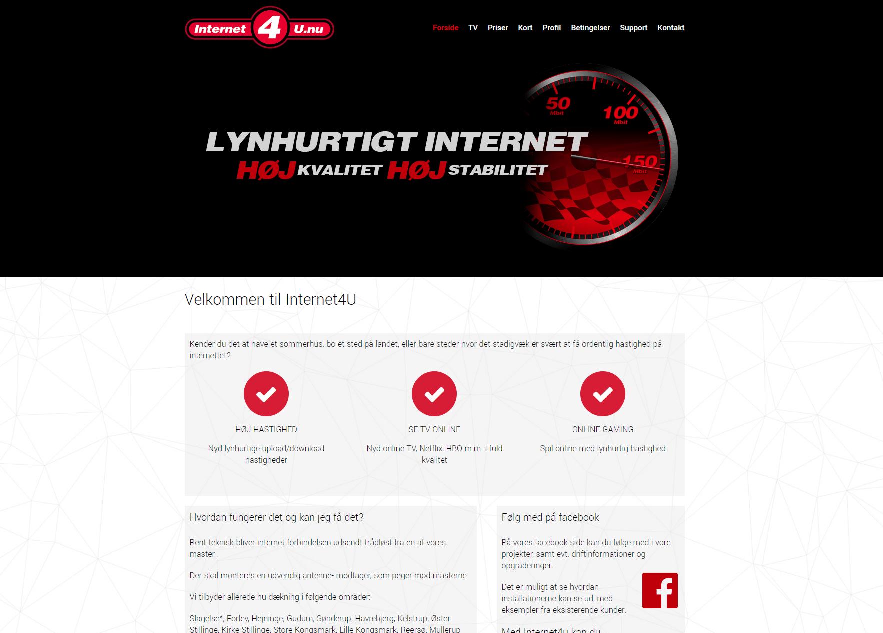 Kundeprojekt - Internet4u.nu