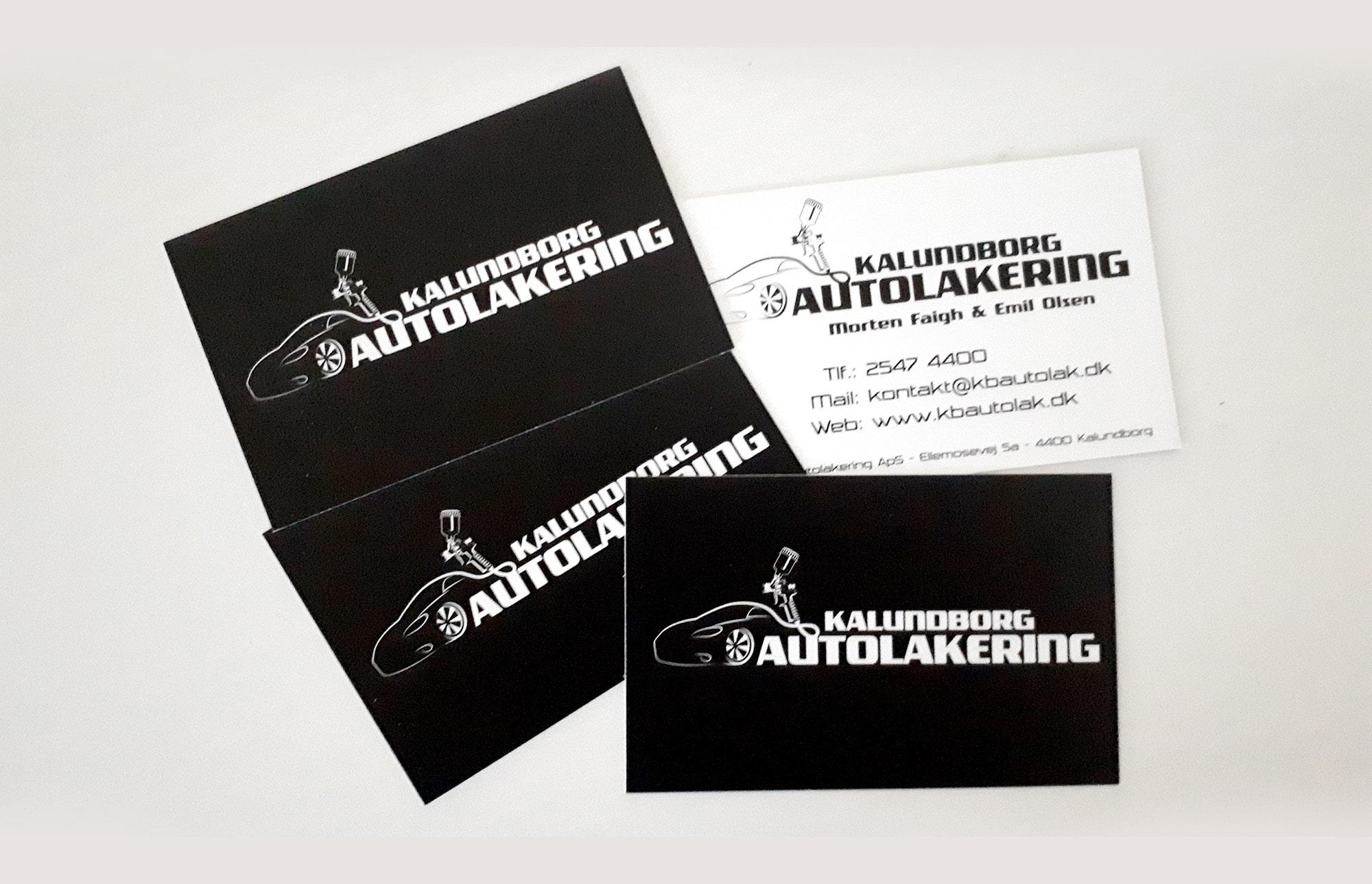 Visitkort - kalundborg autolakering
